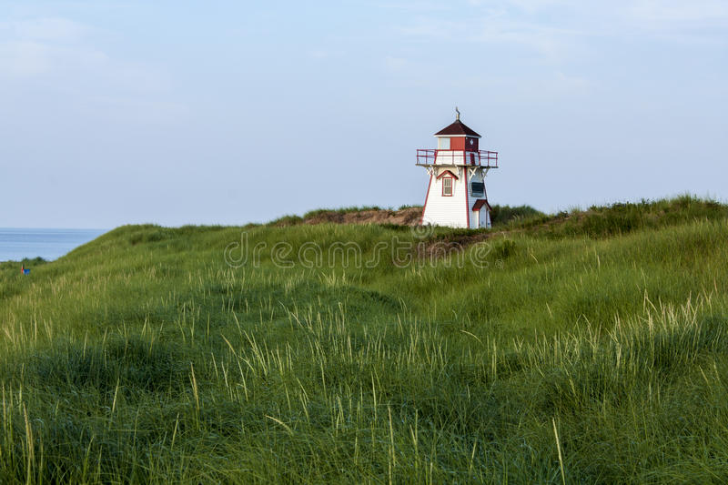 Lighthouse On A Cliff royalty free stock image