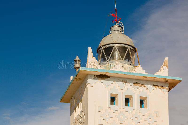 Download Lighthouse On The Coast Of Sidi Ifni Stock Photo - Image: 83717422