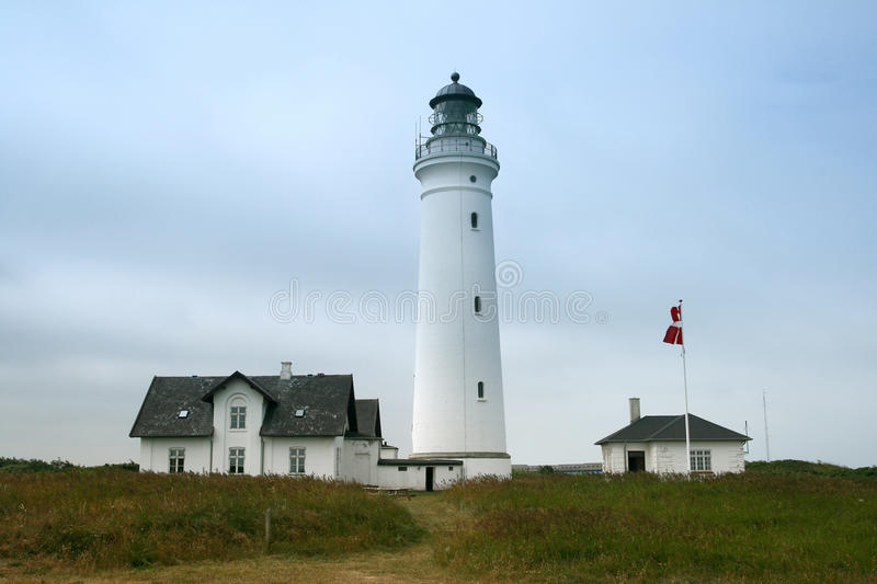 Lighthouse In Denmark Stock Images