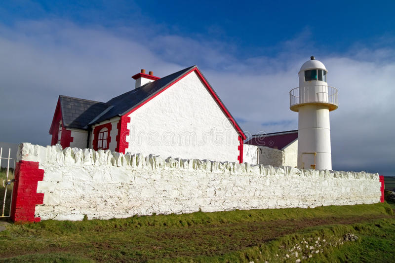 Download The lighthouse in Dingle stock image. Image of natural - 18012983