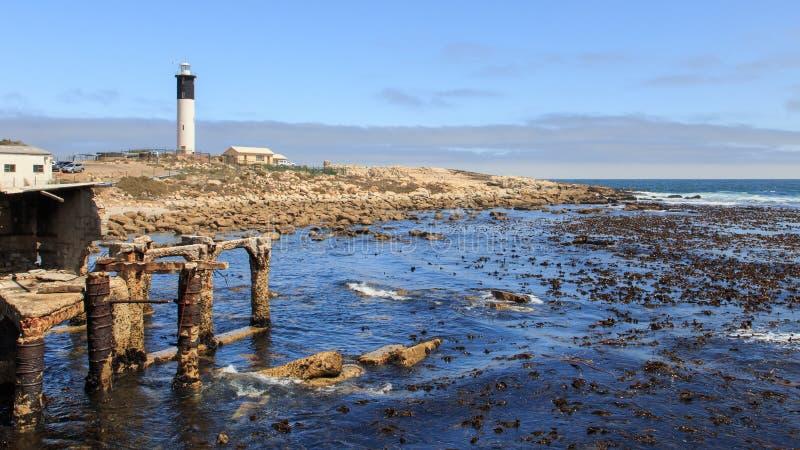 Lighthouse Doringbaai stock image