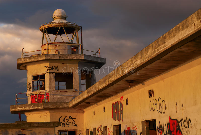 Lighthouse in Edinburgh royalty free stock photos
