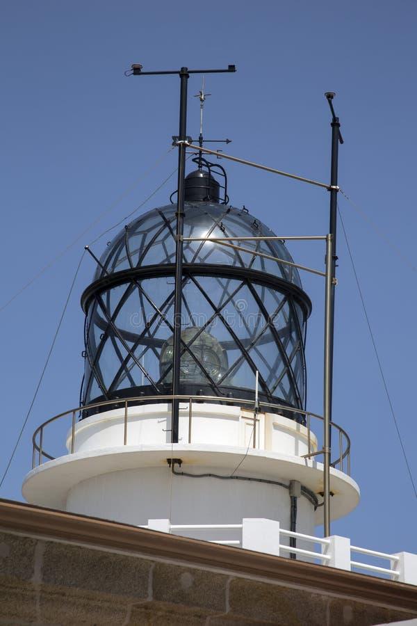 Lighthouse at Estaca de Bares, Galicia. Spain royalty free stock photo