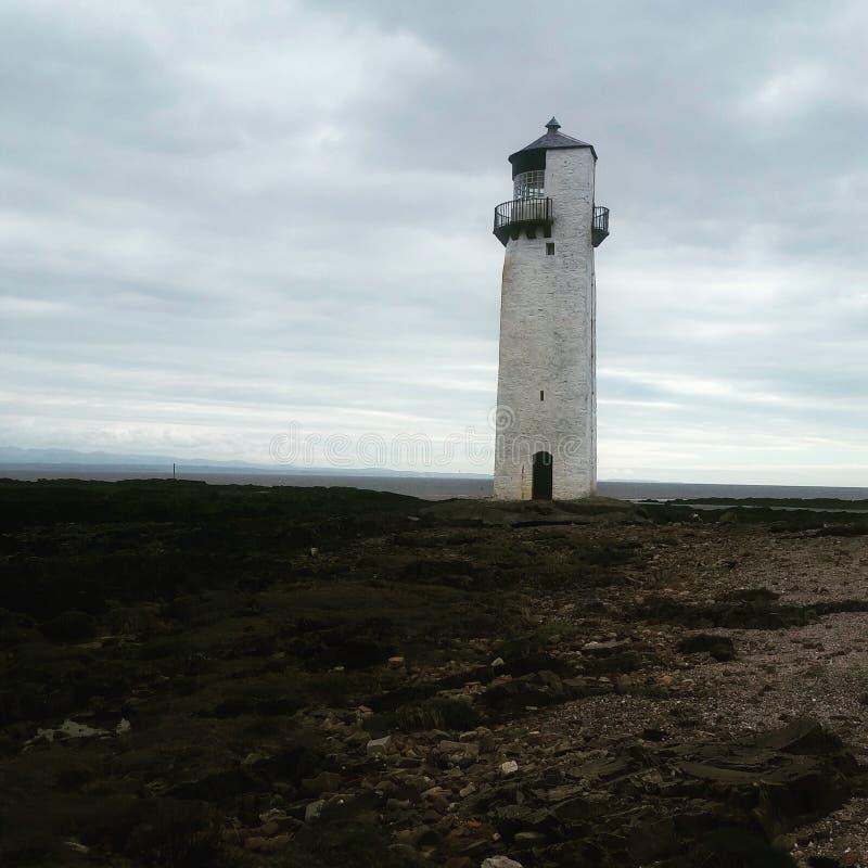 Lighthouse from a far royalty free stock photos