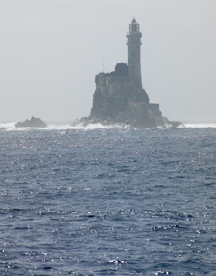 Lighthouse, Fastnet Rock royalty free stock photography