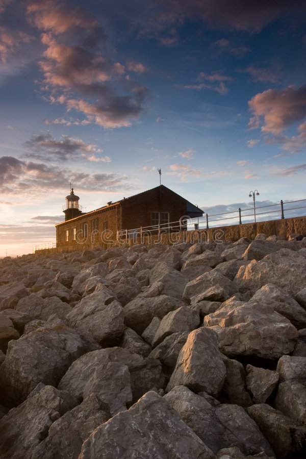 Lighthouse In Great Britain Royalty Free Stock Photo