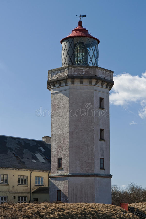 The Lighthouse At Hanstholm Stock Images