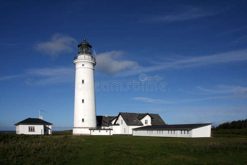 Download Lighthouse at Hirtshals stock image. Image of vacation - 21909483