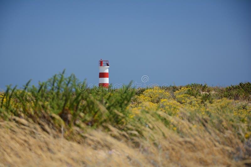 Lighthouse in Ilha Deserta stock photography
