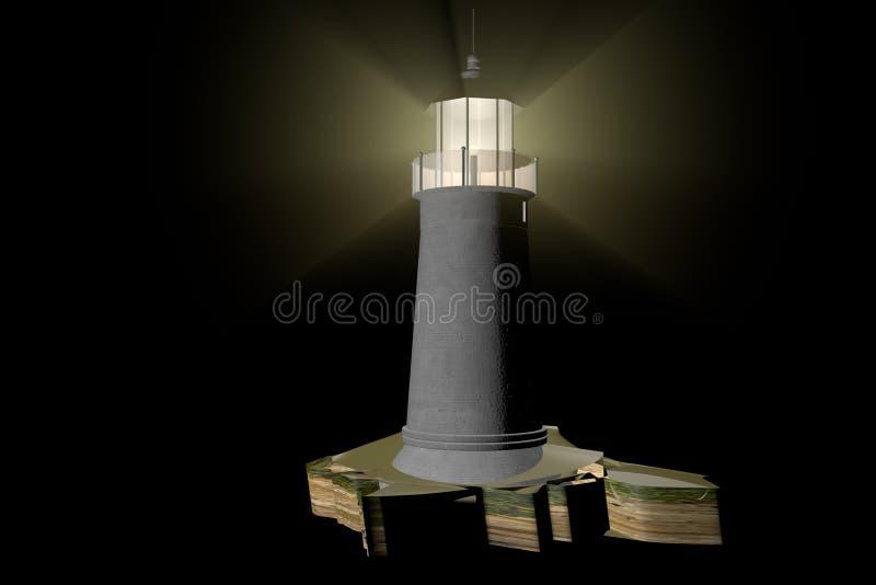 Download Lighthouse stock illustration. Illustration of rough - 36492374