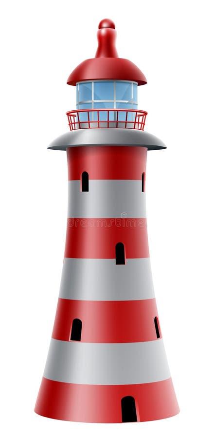 Lighthouse illustration royalty free illustration