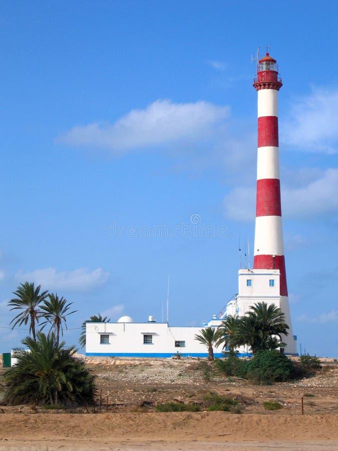 Lighthouse on the island of Djerba. Tunisia stock photography