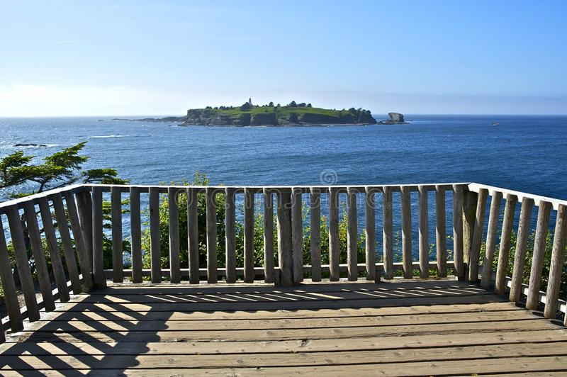 Lighthouse Island Viewpoint Stock Photography