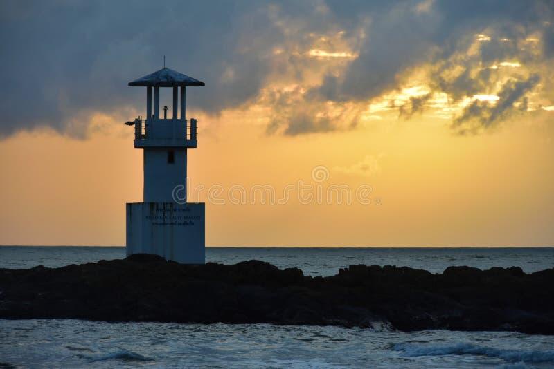 Lighthouse Khao Lak Thailand Centara Seaview resort Khao Lak royalty free stock photo