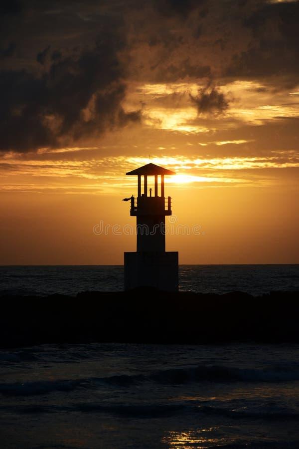Lighthouse Khao Lak Thailand Centara Seaview resort Khao Lak stock photos