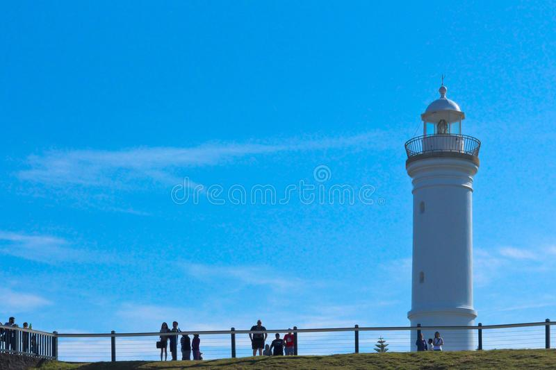 Lighthouse at Kiama stock images