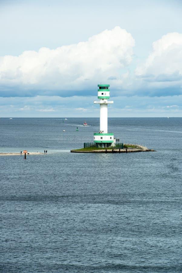 Lighthouse in Kiel, Baltic Sea stock photos