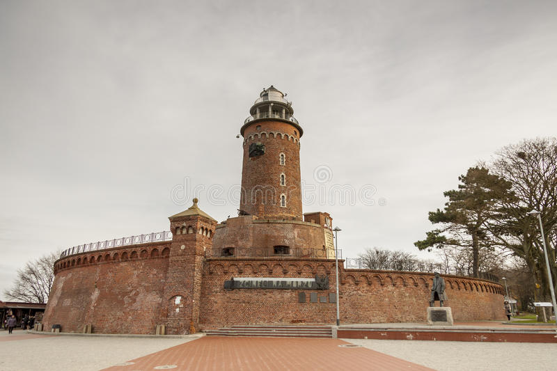 Lighthouse in Kolobrzeg - Poland. Lighthouse in Kolobrzeg, Poland stock photography
