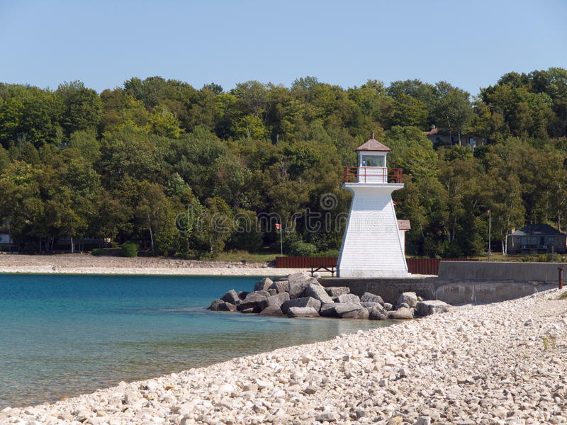 Download Lighthouse On Lake Huron Royalty Free Stock Photography - Image: 28977267