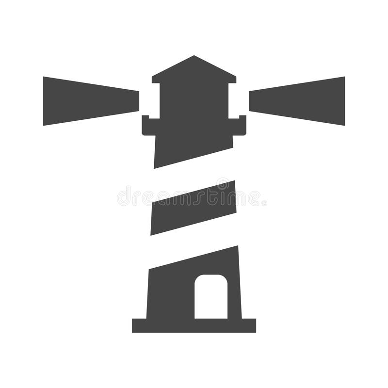 Lighthouse, Light house icon on white background vector illustration