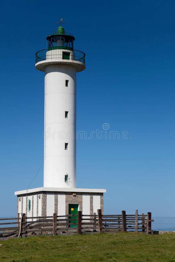 Download Lighthouse of Llastres stock photo. Image of guide, ocean - 23921406