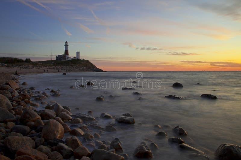Lighthouse - Long Island royalty free stock photography