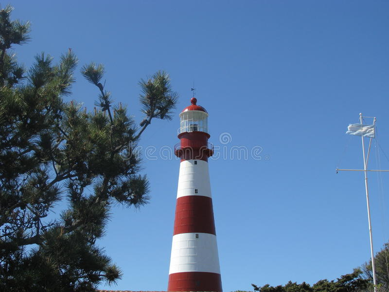 Lighthouse of Mar del Plata. General view of the Lighthouse of Mar del Plata, Buenos Aires, Argentina stock photography