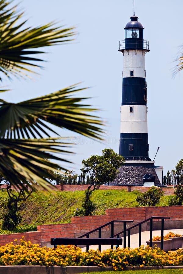 Lighthouse - Miraflores, Lima, Peru stock photo