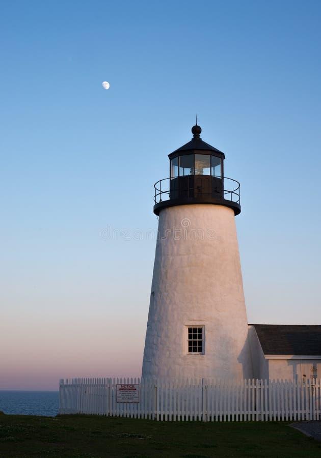 Download Lighthouse stock photo. Image of light, coastal, moon - 33271762