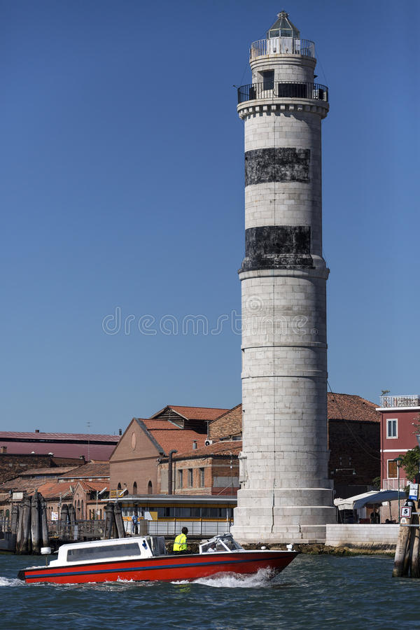 Lighthouse - Murano - Venice - Italy royalty free stock images