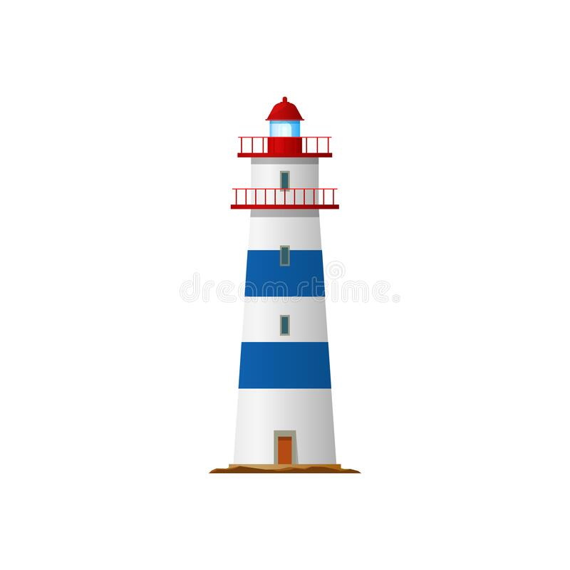 Free Lighthouse, Nautical Sea Tower, Light House Beacon Stock Images - 213036974