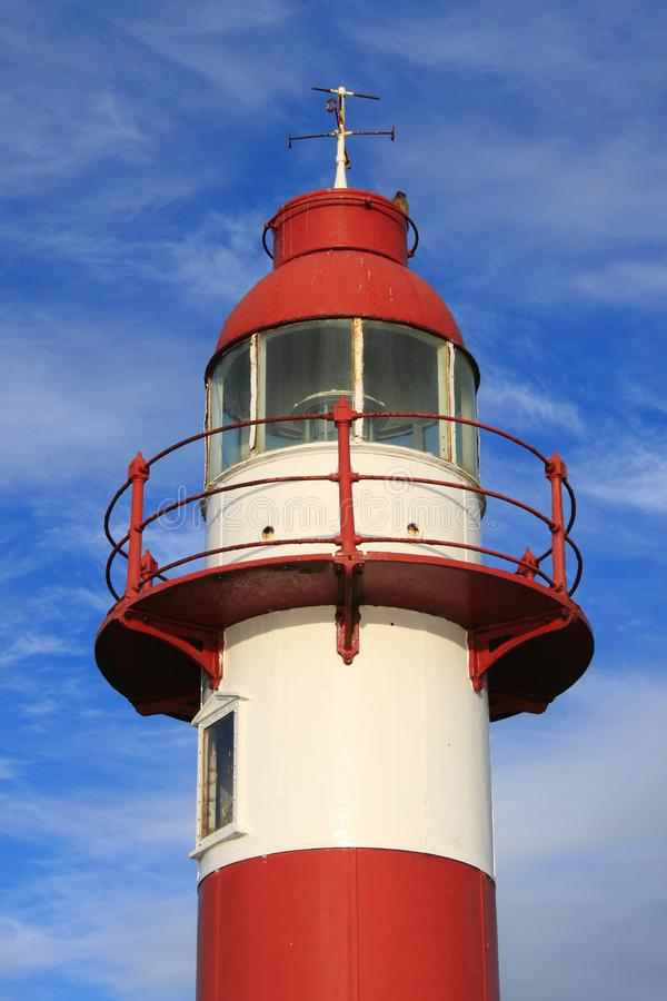 Lighthouse in Niebla, Chile royalty free stock photography