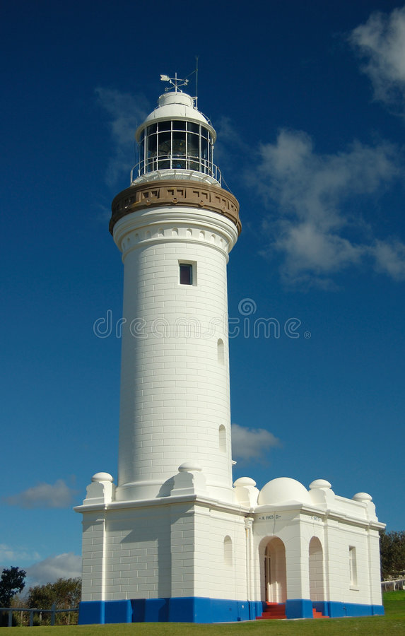 Lighthouse in NSW stock photos