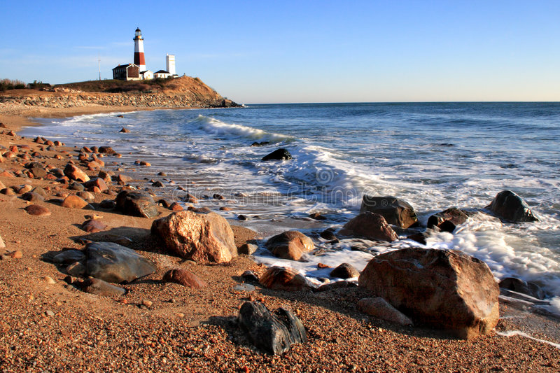 Download Lighthouse and the Ocean 2 stock image. Image of ocean - 4550693