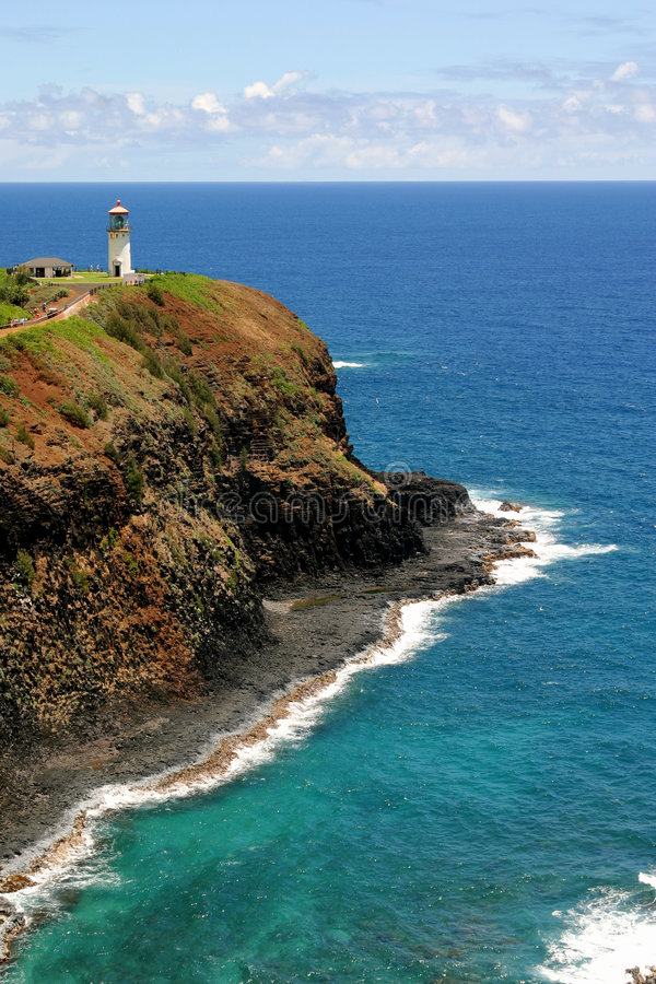 Download Lighthouse and Ocean stock image. Image of blue, holidays - 7547331