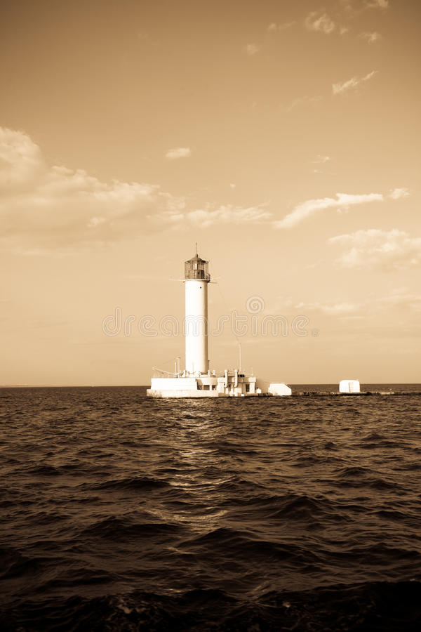 Download Lighthouse In Odessa Ukraine, Photo In Vintage Sty Stock Photo - Image: 11773756