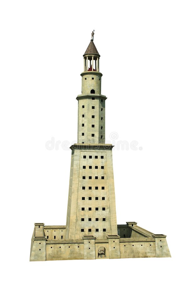 Free Lighthouse Of Alexandria Stock Photography - 2493952