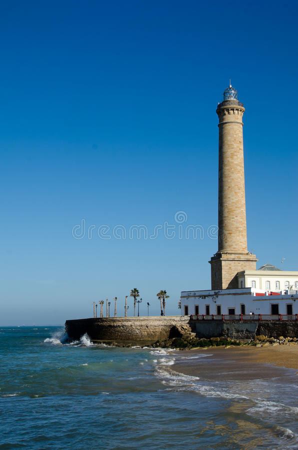 Free Lighthouse Of Chipiona, The Tallest In Spain Stock Photography - 24075552