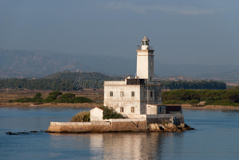 Lighthouse of Olbia stock photos