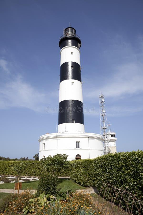 Lighthouse on Oleron island royalty free stock photography
