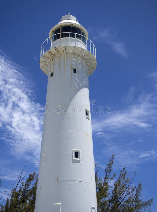 Free Lighthouse On Grand Turk Royalty Free Stock Photography - 43486817