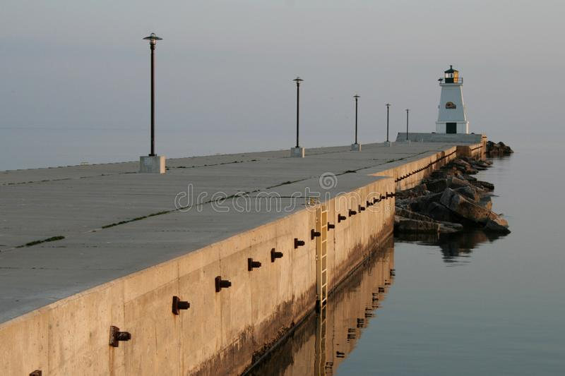 Lighthouse in Ontario Canada royalty free stock photography