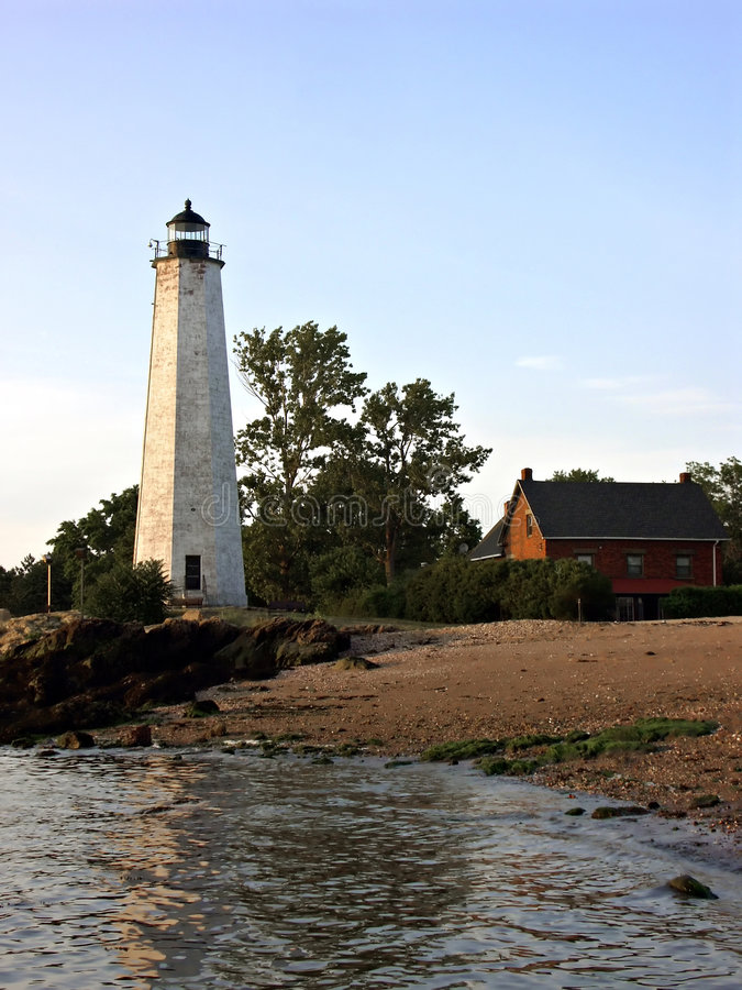 Lighthouse Over Water royalty free stock photography