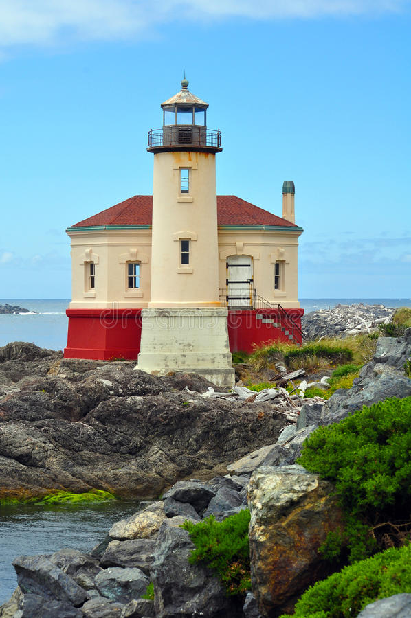 Download Lighthouse On The Pacific Coast Stock Photo - Image: 25621428