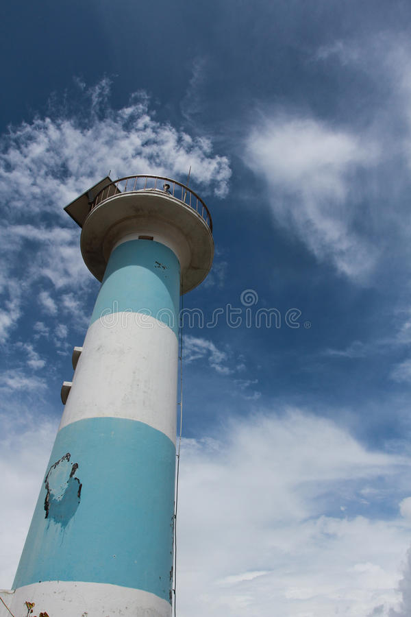 The lighthouse at Phu Quoc Island, Vietnam stock images