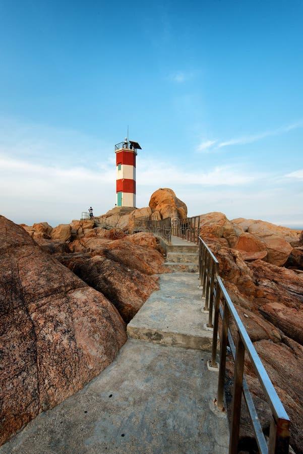 Lighthouse Phu Yen stock images