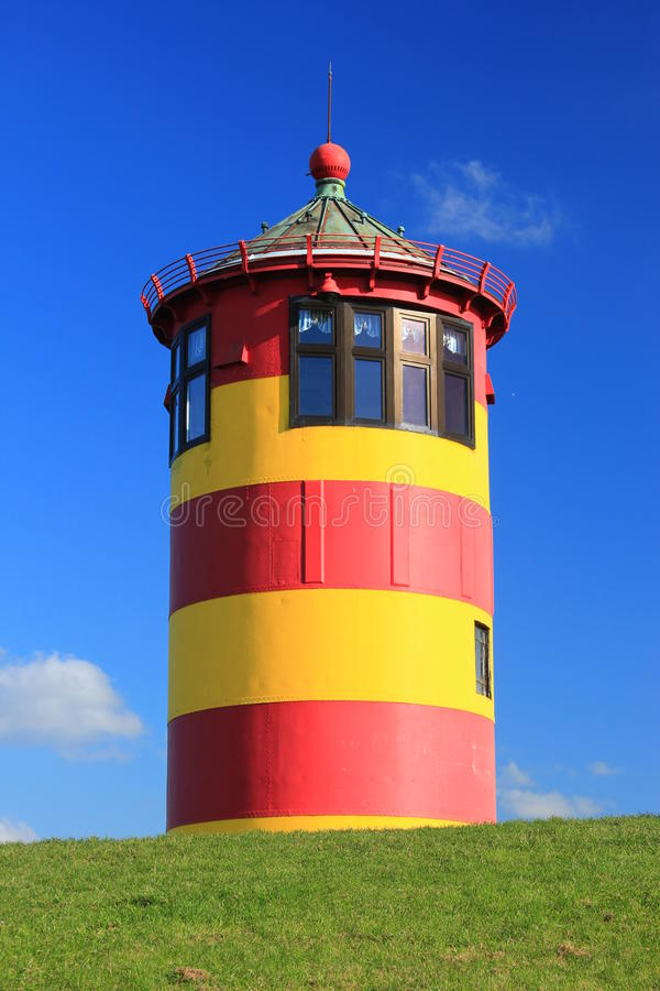Lighthouse Pilsum, Germany royalty free stock photography