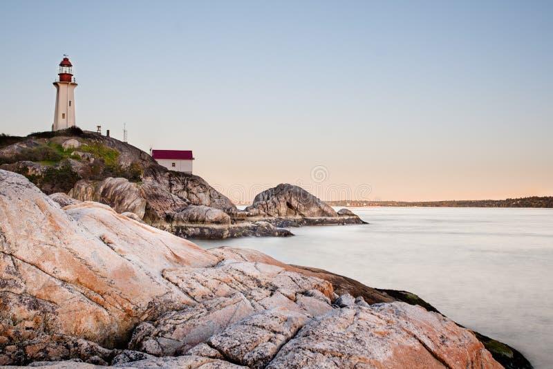 Lighthouse at Point Atkinson royalty free stock photos