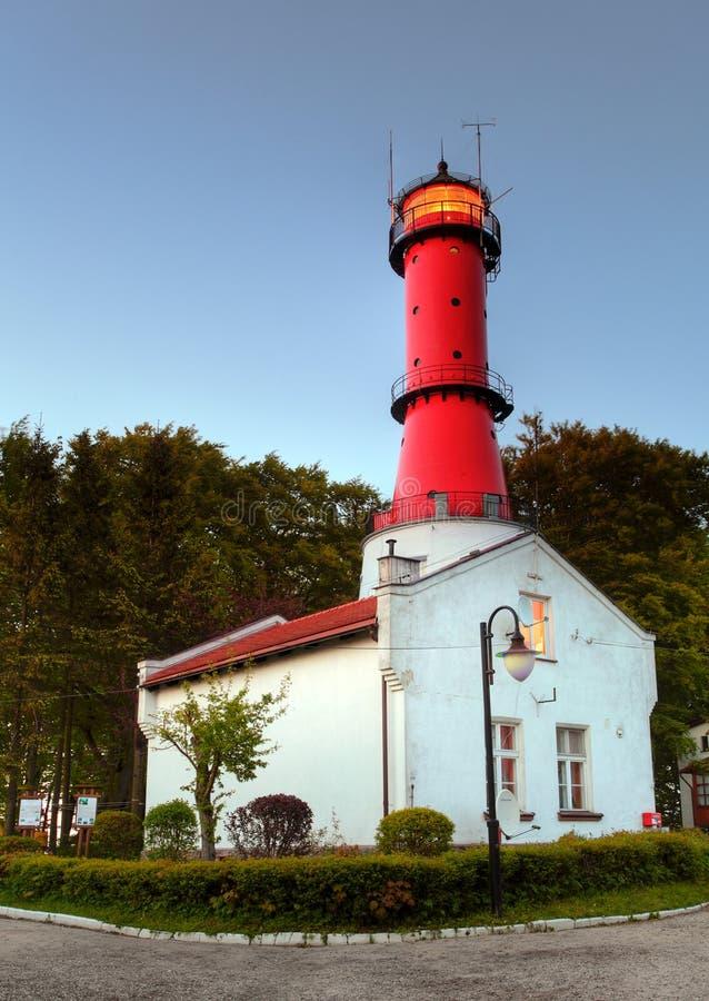 Lighthouse in Poland royalty free stock photos