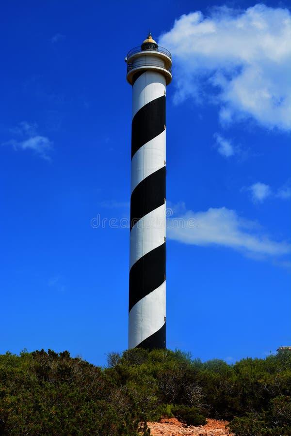 Lighthouse Portinatx Ibiza stock photos